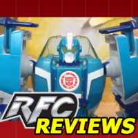 Hasbro Transformers Robots in Disguise Combiner Force Warriors Class Blurr Review