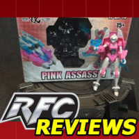 Iron Factory Pink Assassin IF EX-16 (Transformers Arcee) Review