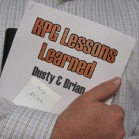 RPG Lessons Learned 056 – Luncheons & Dragons (D&D 4e and BFRPG)