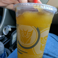 Being Awesome 106: Melted Megatron slushes and Optimus razors