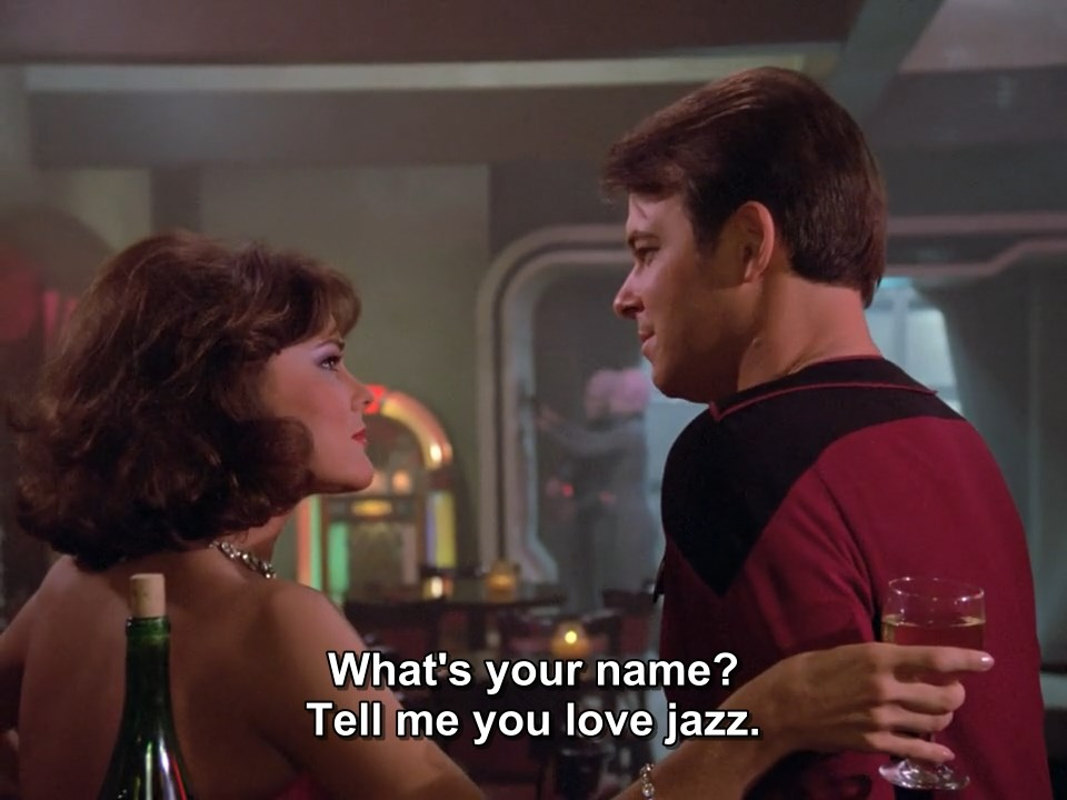 What's your name? Tell me you love jazz.