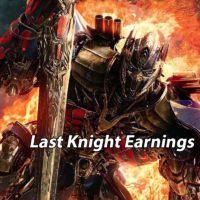33 Days in, how is The Last Knight performing?