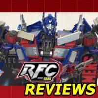 Takara Tomy Hasbro MPM-04 Movie Masterpiece Transformers Optimus Prime Review
