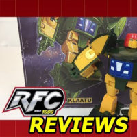 X-Transbots Master Mini Series MM-IX Klaatu (Masterpiece Cosmos) Review