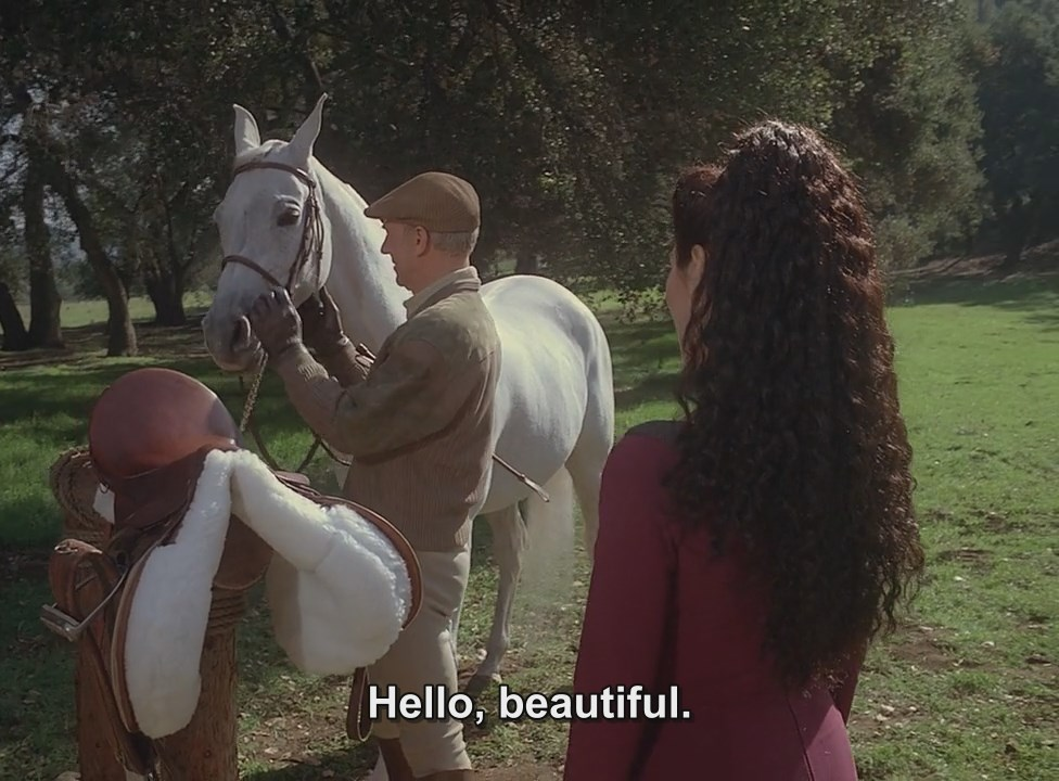 Picard and his horse