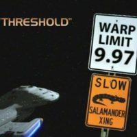"Superhero Time Presents: That One Episode Of Star Trek ""Threshold"""
