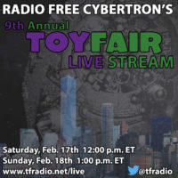 Radio Free Cybertron 558 – Twas the Show Before Toy Fair…